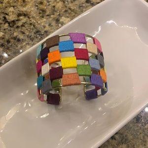 Handmade Boho multi colored bracelets